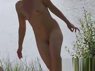 Some fun video we took in a nudist beach hidden cam