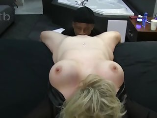 Classy Blondie Wife Enjoys Short Big Black Cock