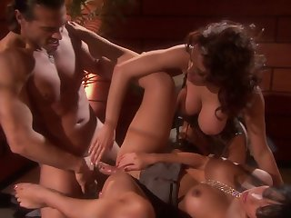 Gianna Lynn and one more girl are ready for a memorable threesome