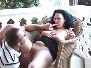 best milf smoking-part1