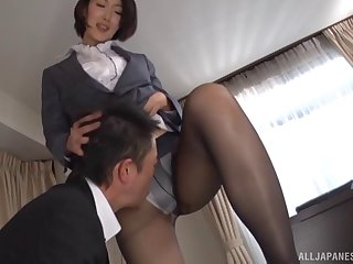 Small boobs chick Eri Ito loves having sex after a long day of work