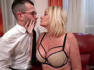 Mature with huge tits, dirty cam porn with the nephew